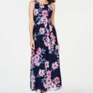 Jessica Howard NEW Floral Maxi Dress 6P